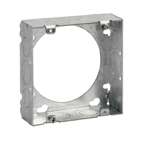 steel city 4 square extension ring steel city 4 11 16 in square box extension ring of