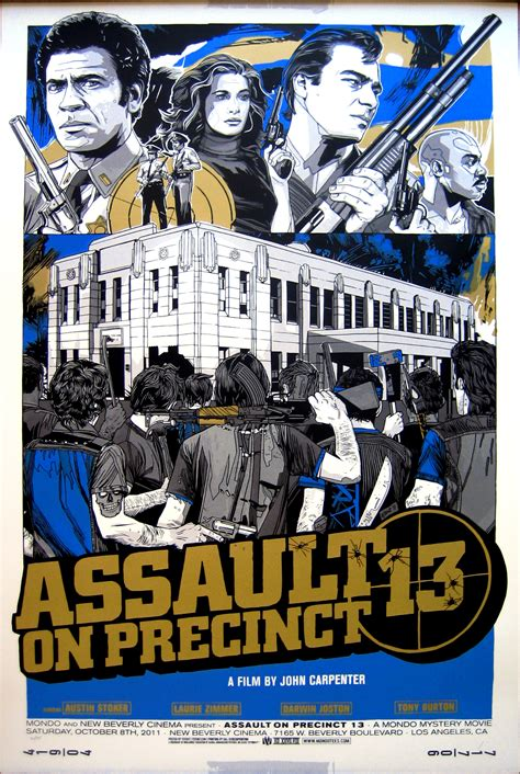 Now On Dailygrindhouse Assault On Precinct 13 1976 - now on dailygrindhouse assault on precinct 13 1976