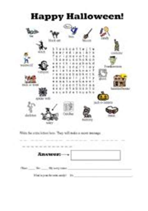 printable word search hidden message halloween secret message word search