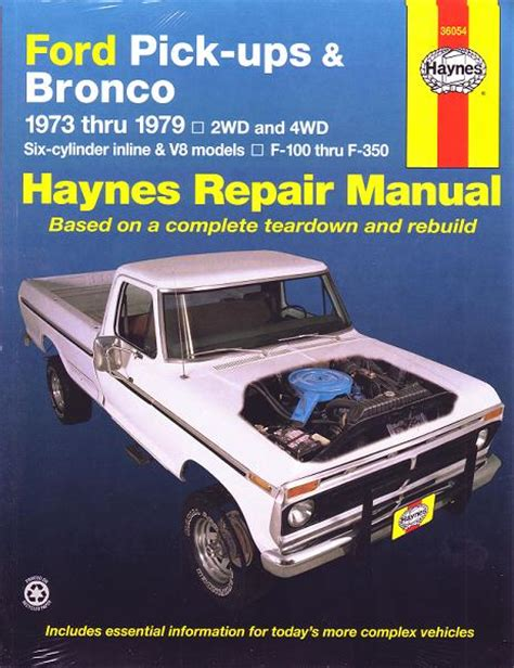chilton car manuals free download 1984 ford bronco windshield wipe control ford pickups and bronco haynes repair manual download