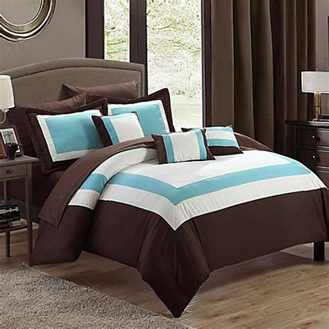 dylan comforter set chic home dylan 10 piece comforter set bed bath beyond
