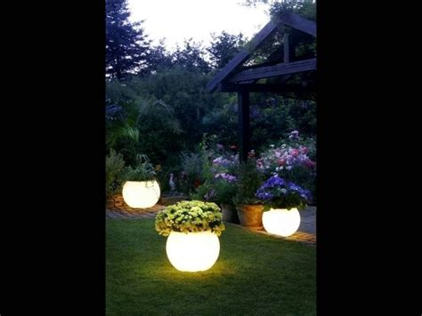 glow in the painted planters glow in the flower pot my house