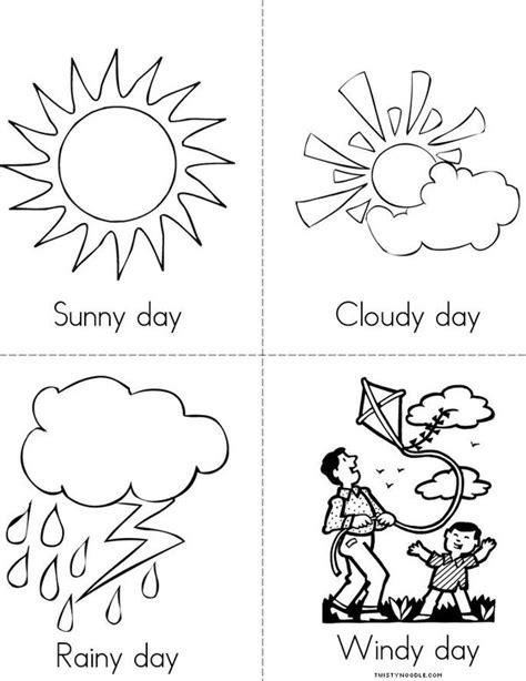 coloring pages weather preschool weather color page classroom color pages pinterest