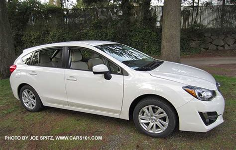 white subaru impreza hatchback 2015 impreza 5 door hatchback exterior photos and images
