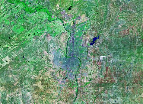 satellite map of texas satellite images of united states cities landsat