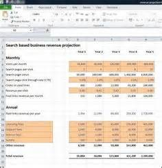 revenue projections template 1000 images about revenue projections on