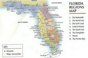 florida landform map geography of orlando florida