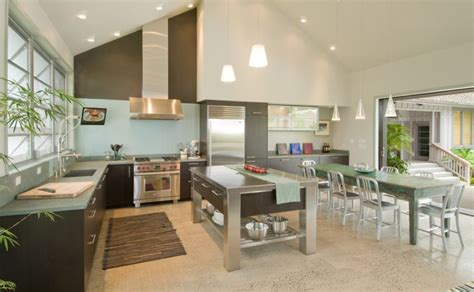 contrasting kitchen wall colors 15 cool color ideas how to separate zones sharing the same floor space using paint