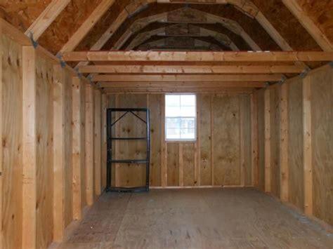 garage loft  barn style shed shed  loft barn