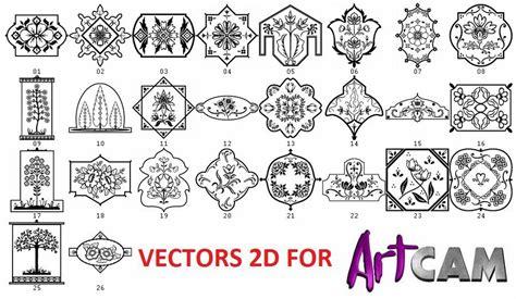 artcam kit  dxf laser vectors cutting cnc router