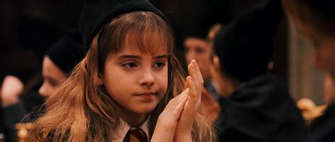 hermione granger in the 1st movoe potter the power of stories
