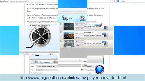 format dav converter dav converter how to convert dav to avi mp4 mpeg wmv