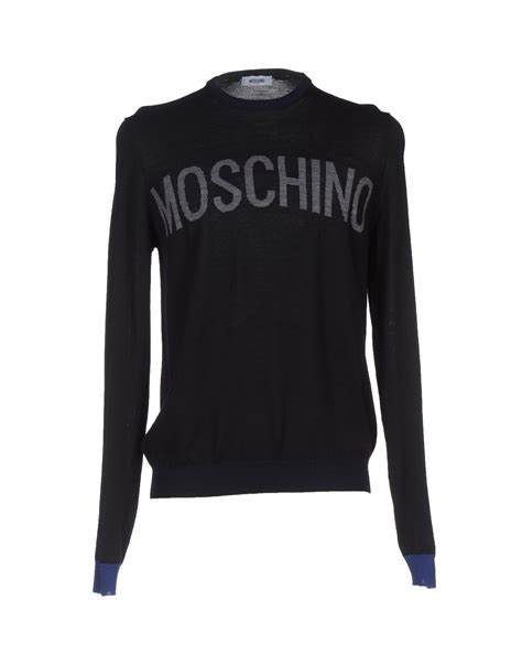 Jumper Moschino moschino jumper in black for lyst