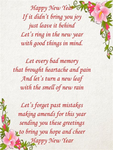 best new year message prayer happy new year poems 2018 new year poems poetry