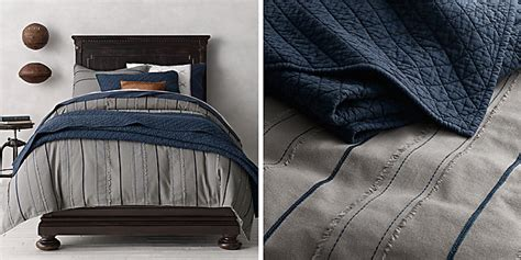 navy and gray bedding boy bedding collections restoration hardware baby child