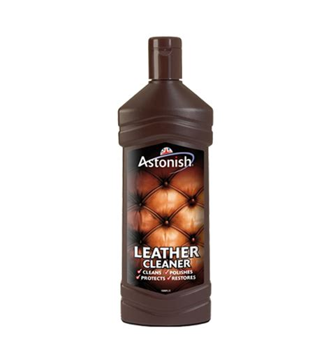 Leather Cleaning Products For Sofas Astonish Leather Cleaner 235ml To Clean Leather Sofas Car Seats Briefcases By Astonish