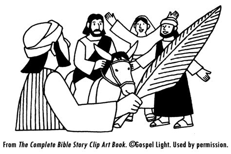 coloring page jesus triumphal entry free coloring pages of btracteur tom