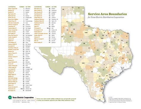 texas electric utility map map of texas electric cooperatives cakeandbloom