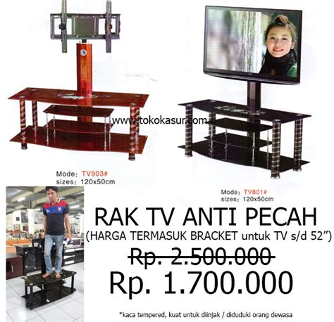 Rak Tv Besi Murah rak tv tempat tv audio rack murah