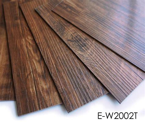 wear resistance water proof self adhesive vinyl plank pvc