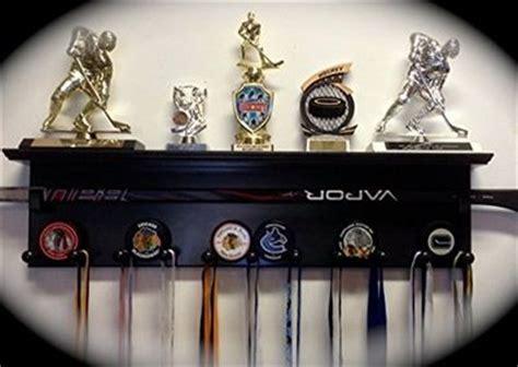 Hockey Puck Display Shelf by Hockey Trophies Award Display And Custom Wood On