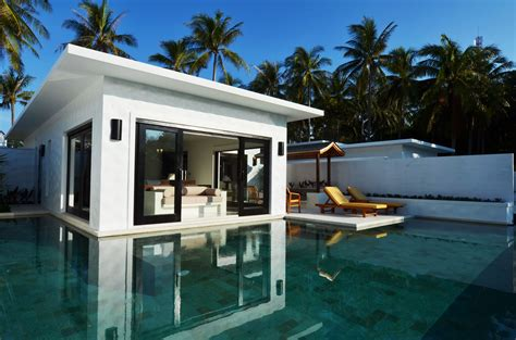Combined Shower And Bath the racha luxury hotel in phuket thailand slh