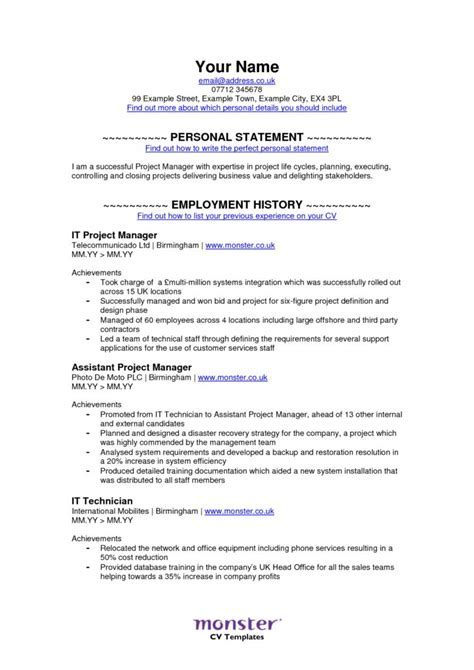 monstercom resume templates awesome free resume templates ornament