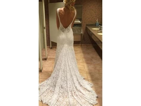 Open Back Wedding Dresses For Sale by Pnina Tornai 33039249 V Neck Open Back Lace 2 900 Size