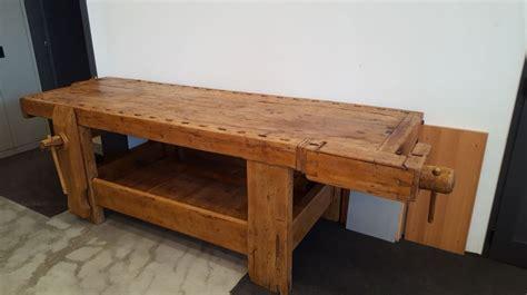 costruire banco falegname banco da falegname in legno