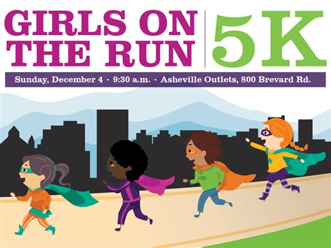 Girls on the Run 5K on Sunday, Dec. 4   Mountain Xpress