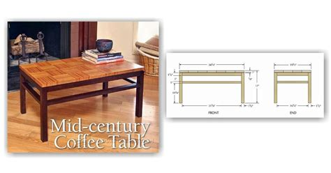 plans for coffee table coffee table plans woodarchivist