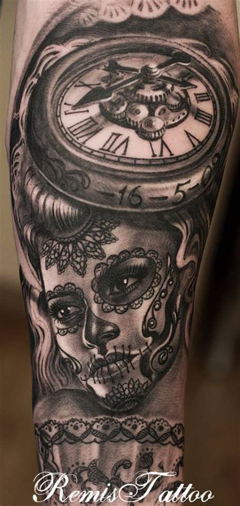 tattoo nightmares day of the dead 1000 ideas about day of dead tattoo on pinterest star