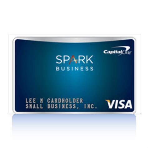 capital business card template capital one spark select for business review