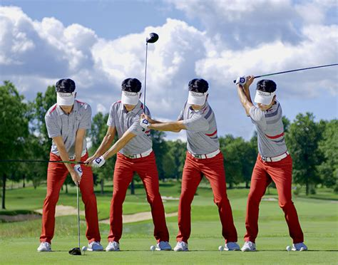 kevin na golf swing swing sequence kevin na australian golf digest