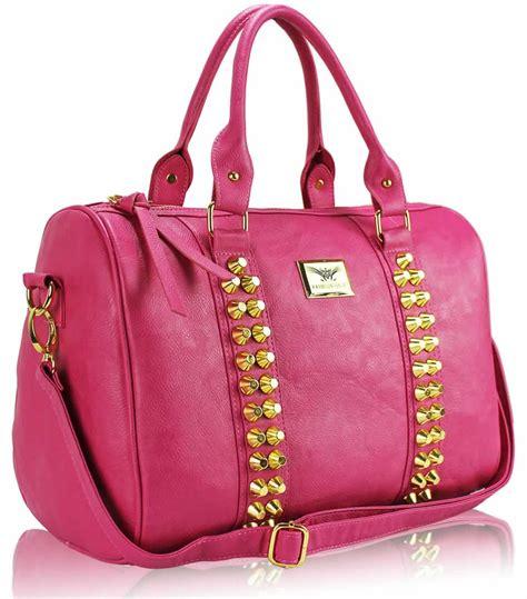 Pink Bag wholesale bag l s fashion pink stunning studded barrel