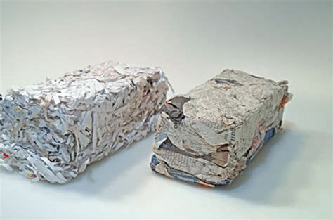 Make Paper Briquettes - 邃卜ake logs 窶ソ 郞 from from paper scraps with