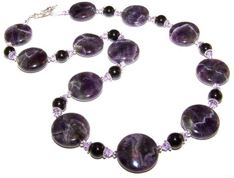 bead necklace kits enchanted amethyst necklace beaded jewelry kit