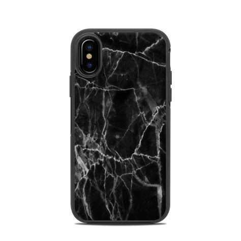 otterbox symmetry iphone  case skin black marble  marble collection decalgirl