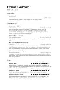Lancome Advisor Sle Resume by Sales Advisor Resume