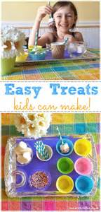 easy treats kids can make inner child fun