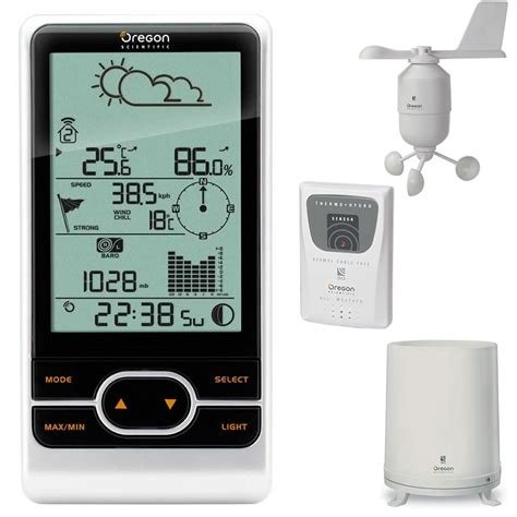 oregon scientific wmr86 pro wireless weather station with