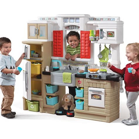 step 2 play lifestyle partytime kitchen kids play kitchen step2