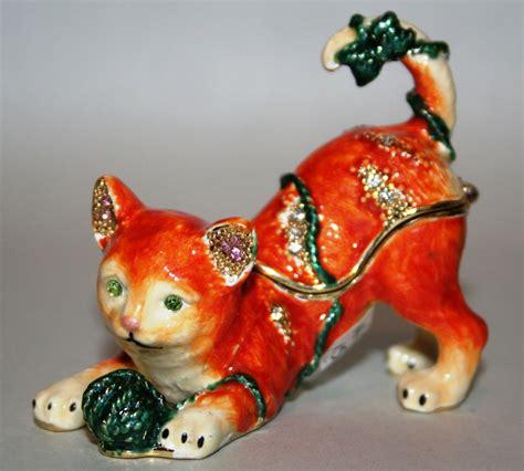 trinkets and juliana treasured trinkets kitten trinket box