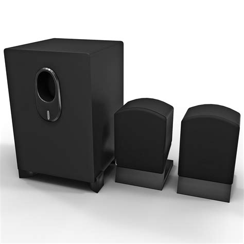 home theater coby 2 3d model