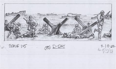 D Day Sketches by Raymond Kaskey Collection At The National Building Museum