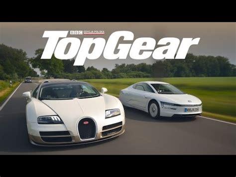 volkswagen bugatti bugatti veyron vs volkswagen xl1 topgear test drive
