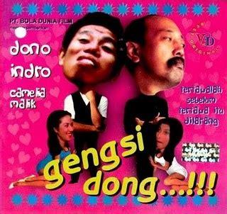 film dono sabar dulu dong film indonesia film warkop dki gengsi dong tahun 1980
