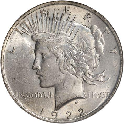 1922 us peace silver dollar 1 ngc ms63 ebay