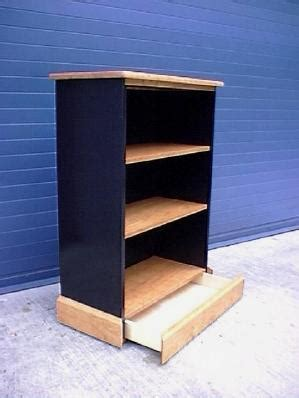 bookcase secret compartment drawer furniture stashvault