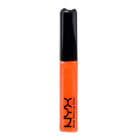 Nyx Mega Shine Lip Gloss nyx lip gloss with mega shine pop lg 156 nyx lip